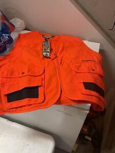 Cabela's Orange Hunting Vest XL