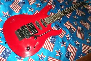 EXTREMELY RARE WASHBURN KC90. SEYMOUR DUNCANS LATE 1990. FLAGSHIP MODEL