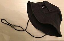 Cappello Pescatore Air Jordan, Taglia S/M, 100% Cotone Colore Nero