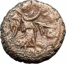 DIOCLETIAN 287AD Alexandria Egypt Potin Tetaradrachm NIKE Roman Coin i48688