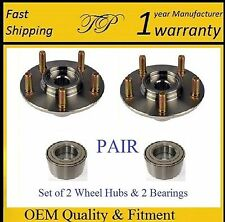 FRONT Wheel Hub & Bearing Kit For PONTIAC VIBE 2003 2004 05 06 2007 2008 (PAIR)