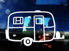 Fiberglass camping trailer car window vinyl decal Scamp Casita Burro Boler Campe