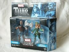 "Marvel Legends Series Mighty Thor Executioner & Enchantress NIB 3.75"" 2017"