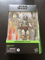 "Star Wars The Black Series Boba Fett Return Of The Jedi Deluxe 6"" Figure NIB"