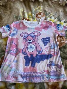 Pink kawaii bear shirt