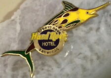 "Hard Rock Hotel LAS VEGAS 1997 Marlin Fish ""SPORTS BOOK"" PIN - HRC Catalog #4684"