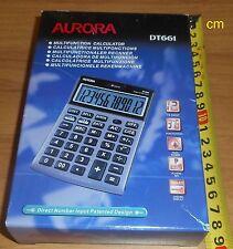 Desktop Calculator DT661 Aurora new unused