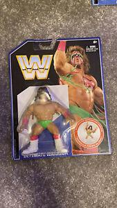 Wwe Retro Ultimate warrior Figure MOC new Hasbro Mattel wrestling