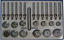 Ventilsitzfräser-Satz mit T-Griff 45° Zylinderköpfe 90° Ventilfäser f 11-tlg