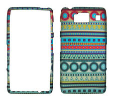 Blue Circle Tribal  Motorola Droid Razr MAXX HD XT926 Case  Cover Hard Protector