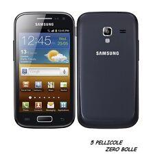 5 Pellicola OPACA per Samsung Galaxy Ace 2 I8160 Protettiva Pellicole MATT