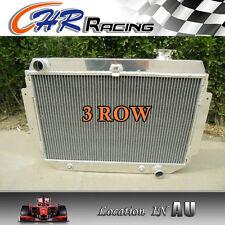 3 ROW FOR Holden Kingswood HQ HJ HX HZ V8 CHEVY AT/MT ALUMINUM RADIATOR