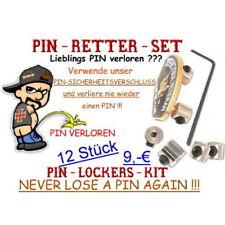 PINSICHERUNGEN PIN LOCKERS Sicherungen  12 Stück + Inb. Made in Germany