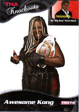 TNA Awesome Kong #64 2009 Knockouts SILVER Parallel Card SN 6 of 40