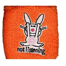 Happy Bunny - Not Listening - Wristband