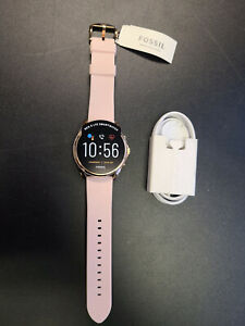New Fossil Gen 5 44mm Gen 5 LTE Smartwatch Blush Silicone FTW60751 + More
