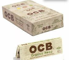 OCB Organic 1.25 - 8 PACKS -  50 Papers Per Pack Rolling Roll