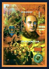 RWANDA 2013 MARSHALS OF THE WAR LAVRENTIY BERIA SIGNATURE SPECIMEN STAMPS MNH