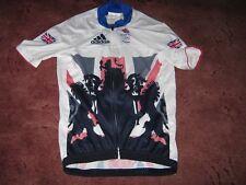 Team GB : Rider issue : Rio Olympics 2016 Adidas aero cycling jersey [M]