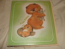 VINTAGE CRITTER SITTERS Binder NOTEBOOK - Great  CONDITION