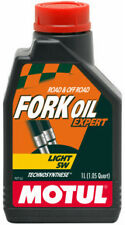 MOTUL FORK OIL OLIO FORCELLE LIGHT 5W EXPERT SEMISINTETICO MOTO TRIUMPH