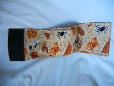 """Dog Puppy Belly Band Wrap Contour Diaper Male Puppy Flannel lined 22"""" PUPS"""