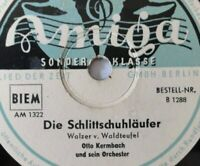 """OTTO KERMBACH und Orchester - Luna-Walzer / Die Schlittschuhläufer - 10"""" 78 RPM"""
