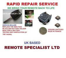 Vauxhall Astra  2 button Remote Key Fob Repair Service