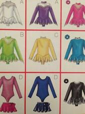 Butterick Sewing Pattern 6787 Girls Childs Bodysuit Skirt IceSkating Size 4-6 UC