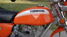 MARS ORANGE Custom Mix Paint for Honda Motorcycles- AEROSOL - SL100 K1, CT90