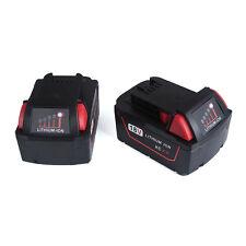 New For Milwaukee 48-11-1822 M18 18V XC RED LITHIUM 48-11-1828 Battery 2 Pack