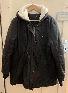 Atmosphere Plus  Size 18 Black Padded Jacket No Pockets