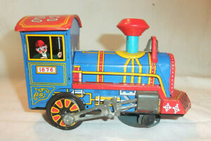 M.7/21 Alte Dampflok Bump'n Go Choo Choo 1876 Zirkus Lokomotive Japan