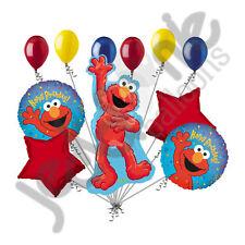 11 pc Elmo Happy Birthday Balloon Bouquet Party Decoration Sesame Street Friend