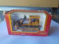TOMICA DANDY - KOMATSU BULLDOZER [ORANGE] NEAR MINT VHTF BOX GOOD JAPAN