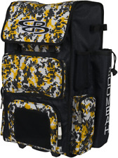 "Boombah Rolling Superpack Baseball/Softball Gear Bag - 23-1/2"" X 13-1/2"" X 9-1/2"
