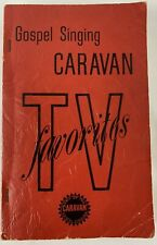 Song Book Gospel Singing Caravan TV Favorites 1967 Hymns Shaped Notes