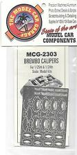 MCG Photo Etch Brembo Calipers For 1/24-25 Car Kits  2303 ST