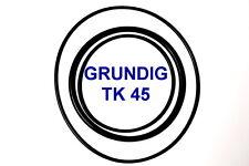 SET CINGHIE GRUNDIG TK 45 REGISTRATORE A BOBINE BOBINA NUOVE FRESCHE FORTI TK45