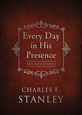 Every Day in His Presence : 365 Devotions by Charles F. Stanley (2014,...