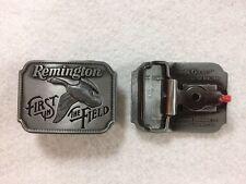 REMINGTON - Vintage 1980 - Canada Goose  - Belt Buckle - Great Remington Quality
