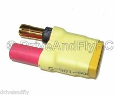 HXT 5.5mm Female to XT-60 XT60 Male 5.5 Bullets No Wires Wireless Adapter Plug