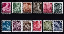 Liechtenstein 1951 postfrisch MiNr. 289-300  Freimarken Landarbeit