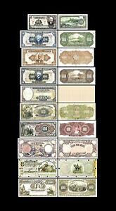 Brasilien - 2x  100 Mil Reis - Ausgabe 1892 - 1936 - Reproduktion - 33