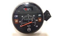 Tacómetro Negro 120 km/h con Indicador de combustible Vespa PX,Lusso 80-200