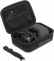 JSVER Carrying Case for Oculus Quest Hard Travel Case w/Shoulder Strap Black