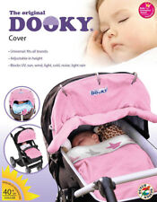 Dooky Sonnenschutz für Kinderwagen Buggy Babyschale rosa