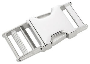 10 - Country Brook Design® 1 Inch Metal Side Release Buckles