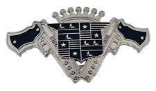 Men American Arms Gun Belt Buckle Metal Western Cowboy Texas USA Rodeo Style Big