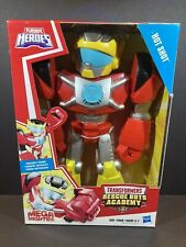 Playskool Heroes Mega Mighties Transformers Rescue Bots Academy Hot Shot 10 Inch